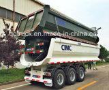 CIMC für Vietnam-schwerer LKW 25cbm die Tri-Welle, die Schlussteil-Kipper spitzt