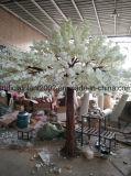 حديقة زخرفة زهرة اصطناعيّة يزهر كرز بيضاء شجرة