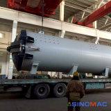 reattore di trattamento composito industriale certificato Asme di 2800X8000mm (SN-CGF2880)