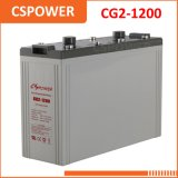 Батарея геля поставкы 2V1200ah Китая солнечная - бензоколонка, система телекоммуникаций