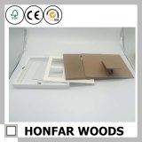 Festes Holz-weißer Baby-Foto-Rahmen mit Lehm En-71