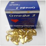 Cápsula macia certificada PBF dos peixes farmacêuticos do produto químico DHA Omega 3