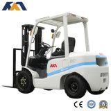 Trabalho Diesel do caminhão de Forklift da aparência 2.5ton de Tcm no recipiente para a venda