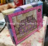 Poli/algodão misturou a matéria têxtil Home dos jogos do fundamento com o Quilt 3pieces e as fronha de almofada feitas em China