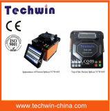 Giuntatrice d'impionbatura di fusione della giuntatrice del cavo ottico della fibra della macchina Tcw-605 della fibra di Techwin di alta qualità