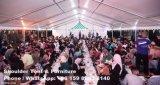 Carpa grande de 5000 personas para el acontecimiento de la boda del partido