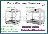 étalage de réchauffeur de pizza de partie supérieure du comptoir de vente en gros de l'acier inoxydable 2-Tier avec du ce