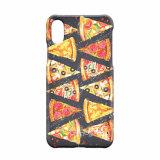 Ctunes 귀여운 피자 조각 사랑스러운 음식 패턴 iPhone 8을%s 호리호리한 단단한 플라스틱 뒤 이동 전화 상자