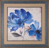 木製フレームの中国様式の壁の芸術の花の絵画