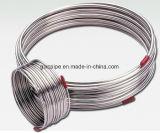 Tubo di piccola dimensione della bobina dell'acciaio inossidabile