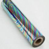 Papier d'aluminium de confettis de confettis d'or de mosaïque de couleur d'estampage de clinquant de clinquant chaud gras argenté de transfert thermique