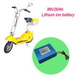Paquete recargable de la batería de 36V 30ah LiFePO4 para la vespa eléctrica