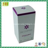 Напечатанная коробка нежности бумаги искусствоа упаковывая