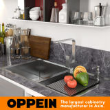 gabinete de cozinha do padrão de largura de 360cm com revestimento da laca (OP17-L02)