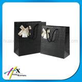 Fait sur commande réutiliser le sac de empaquetage de papier d'art avec le traitement