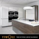 Cucina bianca dell'agitatore di qualità di legno con il disegno Tivo-0177h dell'isola