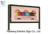Outdoor Waterproof Publicidade LED Light Box para Pavimento Stand Advertising Display