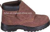 Breathable ботинок безопасности Nubunk кожаный с валом MID-Ankle/MID