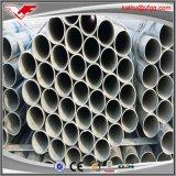 tubo de acero galvanizado sección hueco redonda de 48m m Pipe/Gi