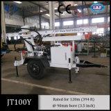 Piccola piattaforma di produzione portatile del pozzo d'acqua di Jt100y