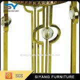 Mobiliário para casa New Design Gold Metal Flower Stand