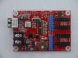 2016 visualización de LED móvil de la tarjeta de regulador de la muestra de la muestra LED del movimiento en sentido vertical de TF-A6u LED P10 RGB
