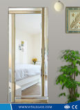 Frame Silver / Aluminum / Decorative Copper Free Mirror with Ce