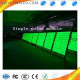 Ligne simple modules de Signage extérieur imperméable à l'eau de DEL d'Afficheur LED