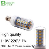 5W AC110V E14 keramisches LED Licht