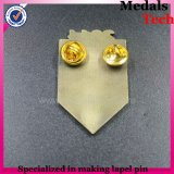 Special Custom Gold Sandblast Smile Sun Face Shape Lapel Pins