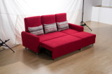 Base di sofà registrabile di Seater dello schienale tre con le feci
