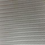 ハイヒールのサンダルのための編まれた穀物ののどのコルクPUの革はHx-S1738をかかとで蹴る