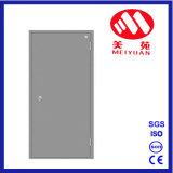 Puerta cortafuego de acero de la sola del tubo puerta del eje