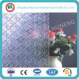 ISO SGS 증명서를 가진 명확한 착색된 장식무늬가 든 유리 제품
