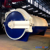 Autoclave en caoutchouc de vulcanisation de pleine automatisation avec le chauffage de vapeur