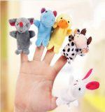 La mejor felpa hecha marionetas animales del dedo