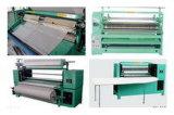 De la fábrica acabamiento de la tela de materia textil del paño de la venta directo que plisa la maquinaria