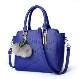 Signore 2017 delle borse con i sacchetti della cartella degli accessori della sfera della pelliccia per le donne Sy8168