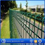 O PVC pintou 3 painéis galvanizados soldados D da cerca com baixo preço