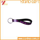 Trousseau de clés doux de silicones personnalisé par vente en gros