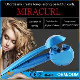 Curl vapor giratoria automática iones negativos Fácil LCD bigudíes de pelo