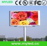 El panel de la tarjeta LED de la publicidad al aire libre de la INMERSIÓN P25