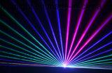 Luz laser de la animación a todo color de Nj-Laserd 3W RGB
