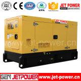 генератор конца 400 вольтов тепловозного генератора двигателя 75kVA Deutz звукоизоляционный
