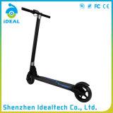 Scooter électrique de mobilité de carbone de roue pliable de la fibre deux