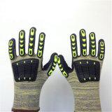 Altrathin Schaumgummi-Nitril-überzogene Kevlar-Handschuhe mit Sponge&TPR dem Nähen