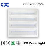 luz de techo cuadrada de la iluminación del panel de 72W 600X600m m LED