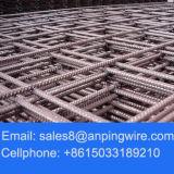 Acoplamiento de alambre soldado de refuerzo concreto