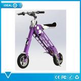 350 vatios sin escobillas plegable Scooter eléctrico Bicicleta eléctrica