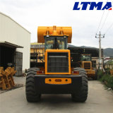 Capienza della benna di Ltma 3.5m3 caricatore della rotella della parte frontale da 6 tonnellate